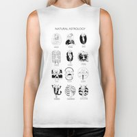 astrology Biker Tanks featuring Natural Astrology by Coily and Cute