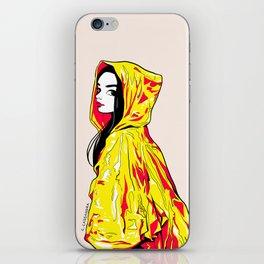 raincoat iPhone Skin