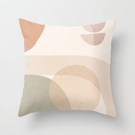 Abstract Minimal Shapes 11 Throw Pillow