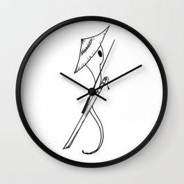 Samurai Sperm Wall Clock