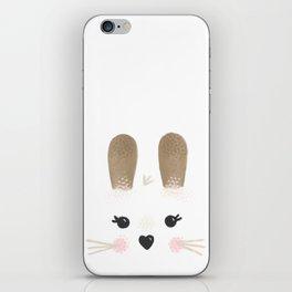 Little Bunny Face iPhone Skin