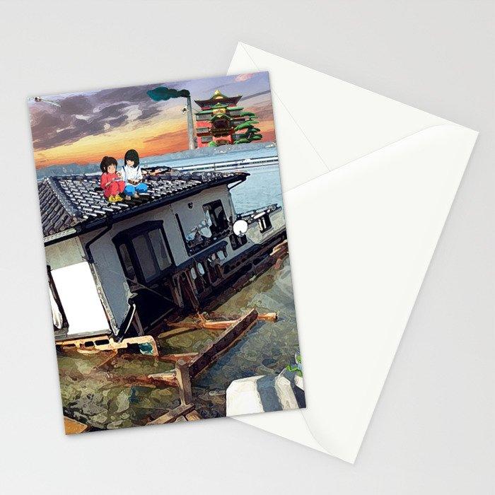 Beyond the Sea - Spirited Away / Ponyo Tsunami Series Stationery Cards