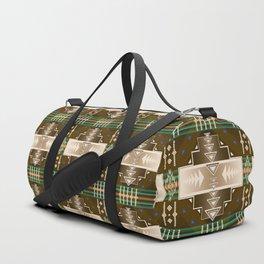 southwest chocolate Duffle Bag