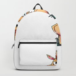 Goat Hangry Funny Backpack