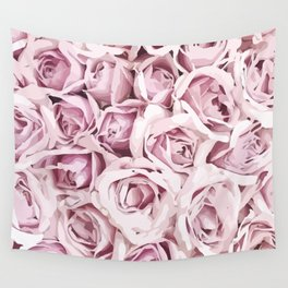 Blush Roses Wall Tapestry