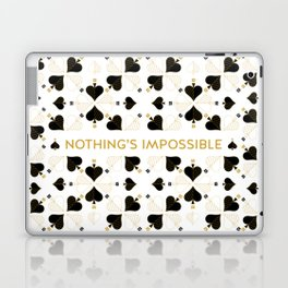 Nothing's Impossible Laptop & iPad Skin