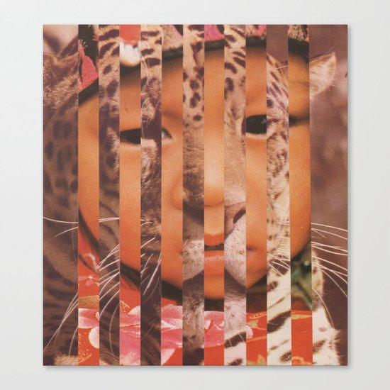 snoleoparden Canvas Print