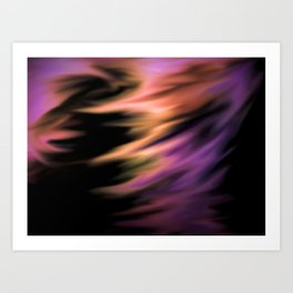 Captured In A Whirlwind Art Print