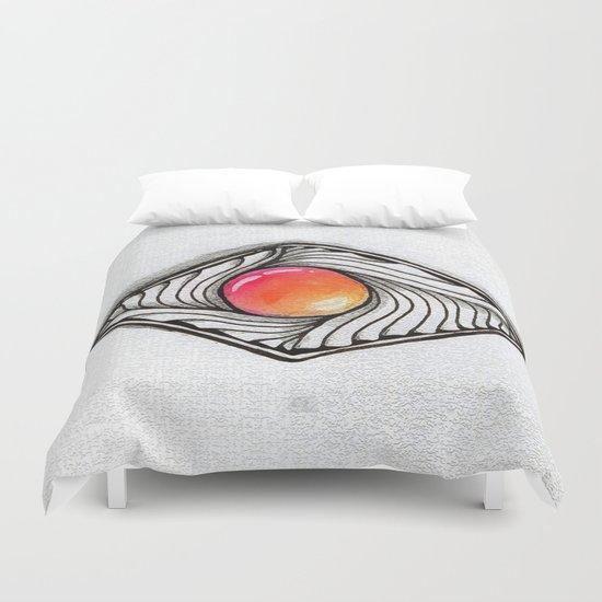 Doodled Gem Sparkle Eye Duvet Cover