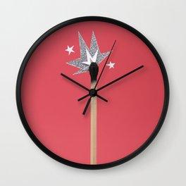 One Strike Wall Clock