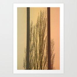 Convergent Art Print