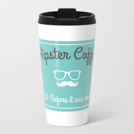 Hipster Coffee Co. Travel Mug