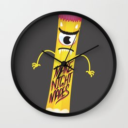 Make Nightmares!  Wall Clock