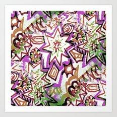 Pop Art Muted Art Print