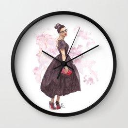Daring Debutante Wall Clock