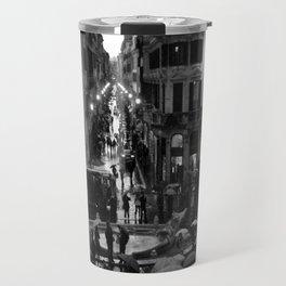 Rain in Rome Travel Mug