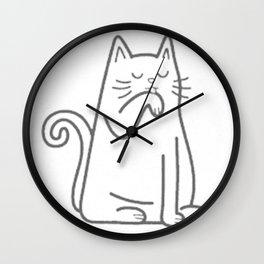 HOT BODE CAT Wall Clock