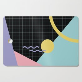 Memphis Pattern 7 - 80s - 90s - Retro Cutting Board