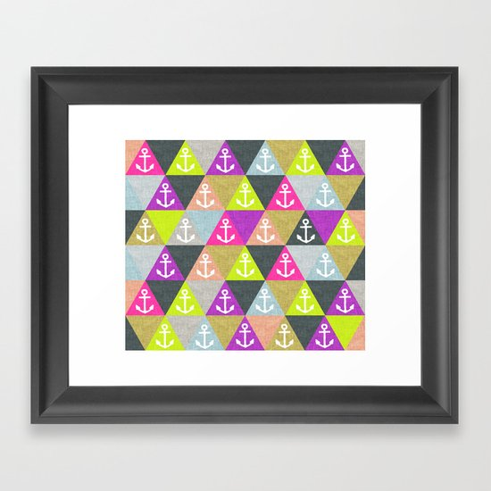 Ahoy! Framed Art Print