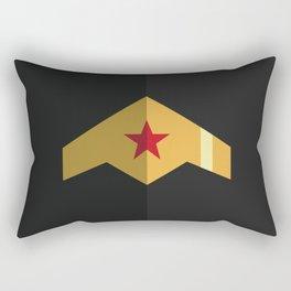 Woman, Hero Wonder, DC Rectangular Pillow