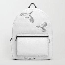 Juncos in Winter Backpack