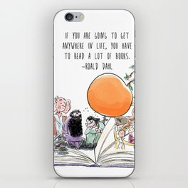 Roald Dahl Day iPhone Skin