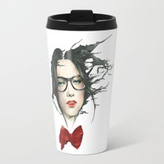 The Girls With Glasses ( fade ) Travel Mug