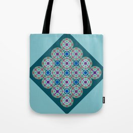 Prelude to Metatron (Turquoise) Tote Bag