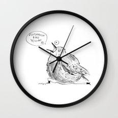 Hello Thursday Wall Clock