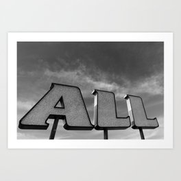 ALL Art Print