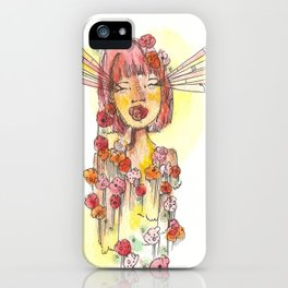 Coming Up Roses iPhone Case