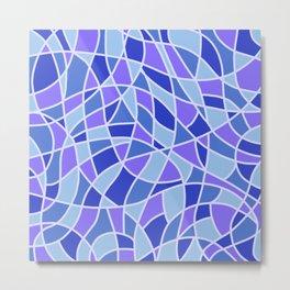 Curved Mosaic 05 Metal Print