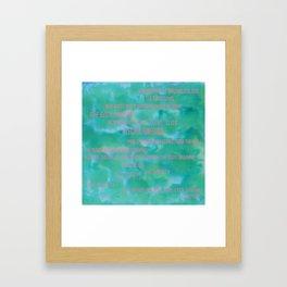 Brightest Dreams Framed Art Print
