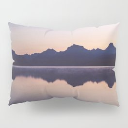 Sunrise over Glacier Pillow Sham