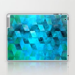 Stacked Sky (blue) Laptop & iPad Skin