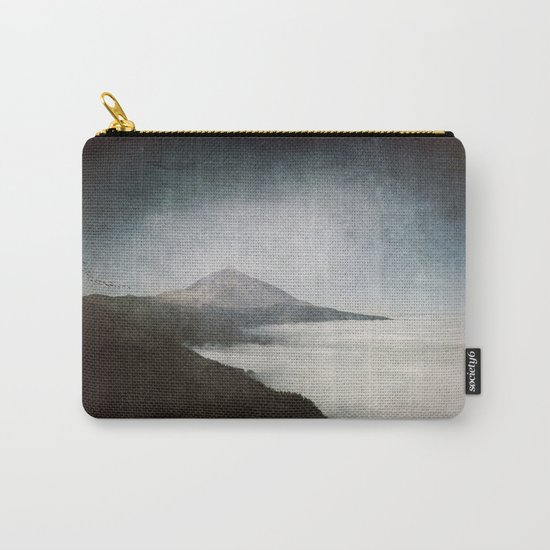 Mount Teide and dust- Mountains Spain Landscape Wanderlust- #Sociey6 Carry-All Pouch