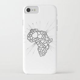 For the love of Africa iPhone Case