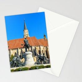 cluj napoca church Stationery Cards
