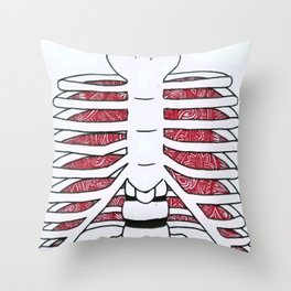 internal Throw Pillow