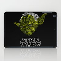 yoda iPad Cases featuring Yoda by Stormega