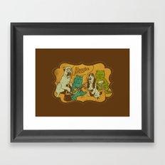 Boogie Framed Art Print