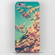 Her Favorite Color was Pink Flowers Slim Case iPhone 6 Plus