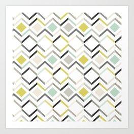 Modern Angles Style A Art Print