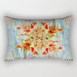 Birds Reflections Rectangular Pillow