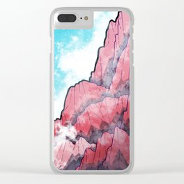 The Misty Mountains Clear iPhone Case