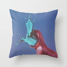 Efflux.2. Throw Pillow
