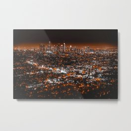 Los Angeles Panorama Metal Print