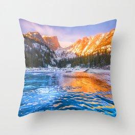 Dream Lake Throw Pillow