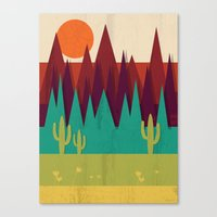 arizona Canvas Prints featuring Arizona by Kakel