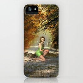 Forest Sprite iPhone Case
